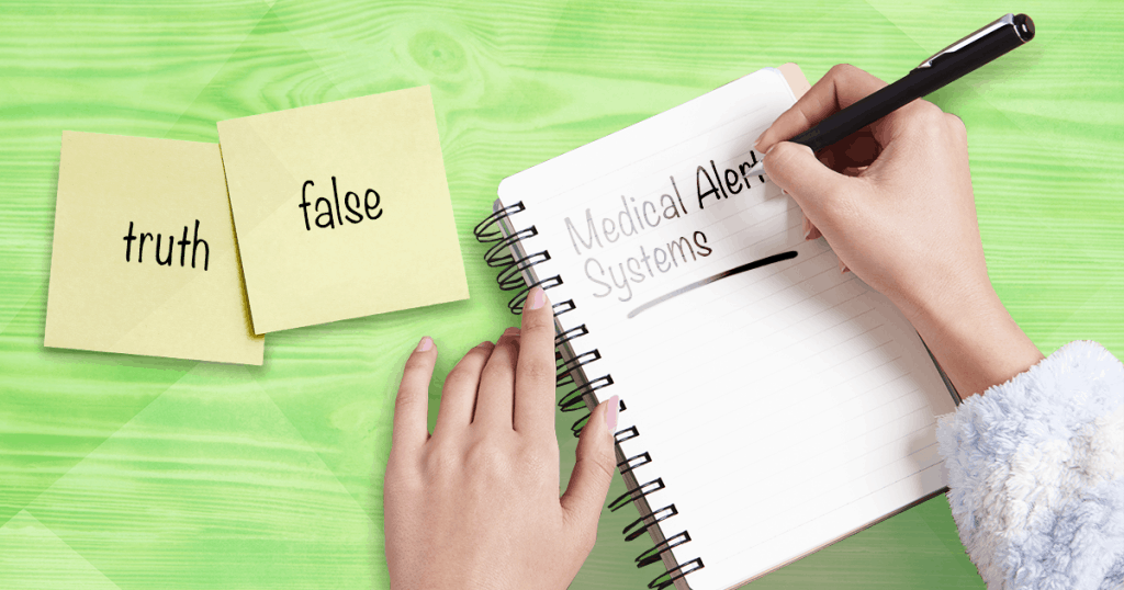 medical alert systems, misconceptions